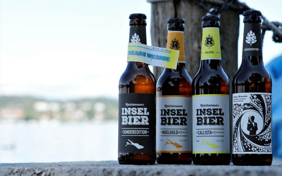 Bier; Die kleine Insel-Bier Brauerei auf der Reichenau